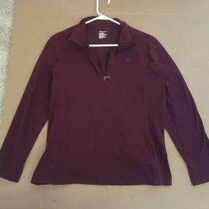 Gap long sleeve quarter zip shirt